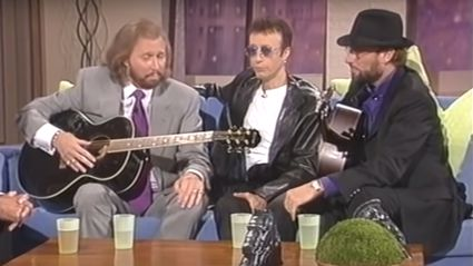 Relive the Bee Gees' flawless live a capella performance of 'How Deep Is Your Love'