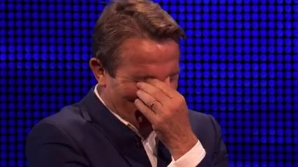 The Chase's Bradley Walsh has been left in hysterics again over new cheeky question
