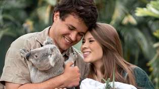 Bindi Irwin shares sweet ultrasound photo of her first child with Chandler Powell