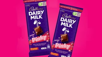 Cadbury has released a special-edition Pinky block to support the Breast Cancer Foundation NZ
