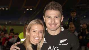 Beauden Barrett announces he has become a father for the first time
