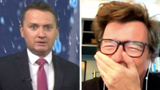 TV weatherman left red-faced after insulting Rick Astley, without realising he was listening
