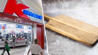 Kmart shoppers left confused after discovering hilarious typo on chopping board