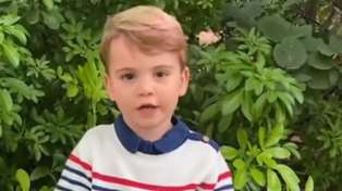Prince Louis speaks in public for the first time in adorable new video with David Attenborough