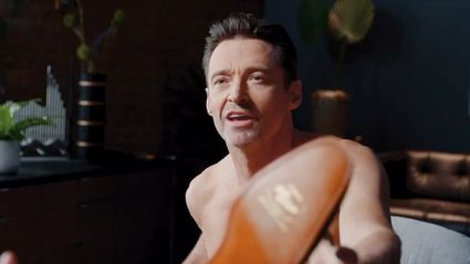 Hugh Jackman sets pulses racing as he strips naked in a new advert for an Aussie footwear brand