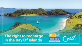 Win the Right to Recharge and Feel Good in The Bay Of Islands