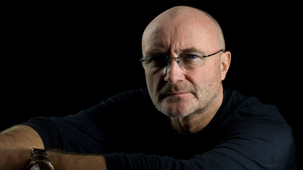 Phil Collins has issued a cease and desist letter to the US president. Getty Images