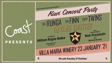 Coast presents: The  Kiwi Concert Party