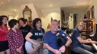 Jimmy Barnes and his family perform beautiful cover of 'Take Me Home, Country Roads'