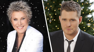 Michael Bublé reveals he's set to feature on Anne Murray's new Christmas album