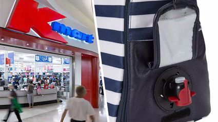 Shoppers are going crazy over this new handbag with wine dispenser pocket from Kmart