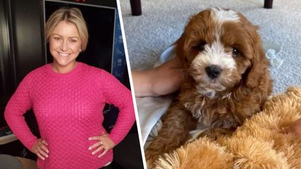 Toni Street reveals what she's calling her new puppy ...