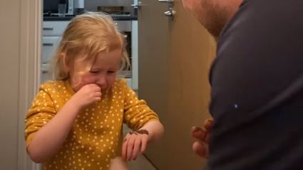 Parents hilariously prank children with viral Nutella poop trick and their reactions are priceless
