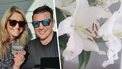 Toni Street's husband shares his ultimate life hack for removing stamens off lilies
