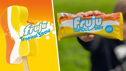 Fruju Tropical Snow ice creams are BACK and are now available in stores!