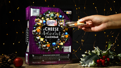 A cheese advent calendar is coming to New Zealand just in time for Christmas!