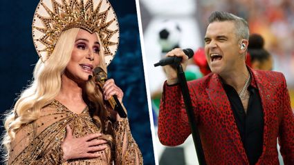 Cher, Robbie Williams, Bryan Adams and more join forces for star-studded charity cover
