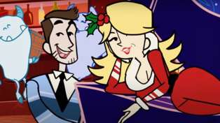 Dolly Parton and Michael Bublé release whimsical animated music video for their Christmas duet