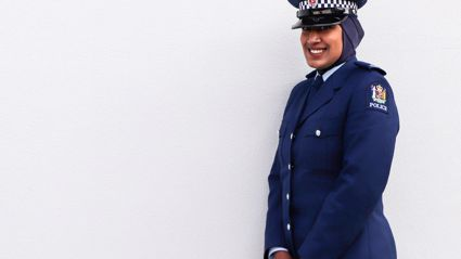 Hijab introduced to police uniform, first officer to wear it 'proud'
