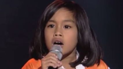 Eight-year-old wows The Voice Kids coaches with spine-tingling cover of the Bee Gees
