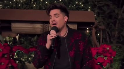 Adam Lambert performs spine-tingling rendition of 'Have Yourself A Merry Little Christmas'