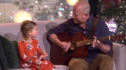 Five-year-old wows Ellen DeGeneres with adorable cover of Dolly Parton's 'Jolene'