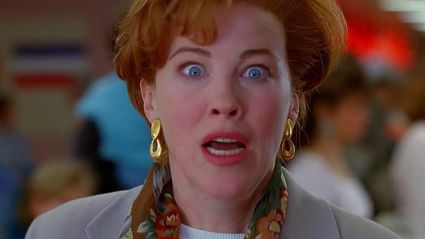 Catherine O'Hara perfectly recreates her hilarious scene from Home Alone 2