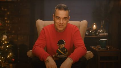Robbie Williams releases hilarious video for his covid-themed Christmas song 'Can't Stop Christmas'
