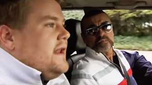 WATCH: George Michael stars alongside James Corden in the first ever Carpool Karaoke!