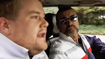 WATCH: George Michael stars alongside James Corden in the first ever Carpool Karaoke!