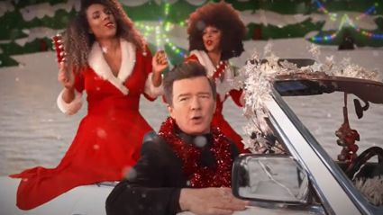 Rick Astley surprises fans with new festive song 'Love This Christmas' - and we are loving it!