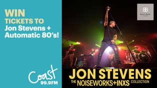 HAWKE'S BAY: Win tickets to Jon Stevens!