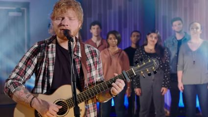 Ed Sheeran performs stunning live cover of Elvis' 'Can't Help Falling In Love'