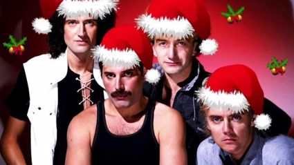 Freddie Mercury performs heartfelt live cover of 'White Christmas' in rare recording from 1977