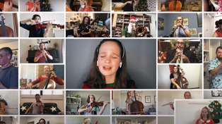 2,800 people from 50 countries sing stunning virtual choir cover of 'All I Want for Christmas Is You'