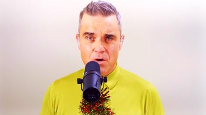 Robbie Williams releases new festive cover of 'Winter Wonderland' with his prodigies LMA Choir