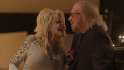 Barry Gibb and Dolly Parton team up for stunning remake of the Bee Gees' classic 'Words'
