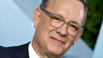 "Tom Hanks unveils ""horrible"" new bald haircut for upcoming Elvis Presley biopic"