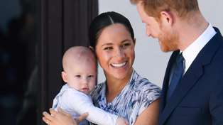 Baby Archie speaks publicly for first time in Prince Harry and Meghan Markle's new podcast