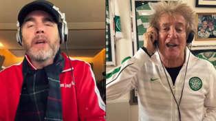 Rod Stewart performs phenomenal virtual duet of 'Rhythm of My Heart' with Gary Barlow