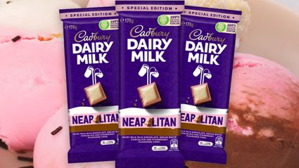 Cadbury has just announced it's releasing a Neapolitan ice cream-flavoured chocolate bar