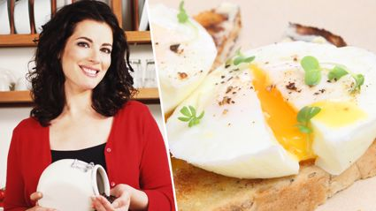 Nigella Lawson shares her simple life hack for the perfect poached egg