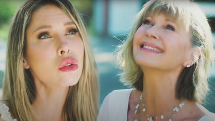 Olivia Newton-John and daughter Chloe release stunning new duet together