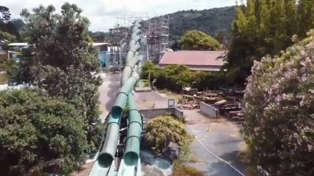 Eerie footage show Waiwera Hot Pools in decrepit state