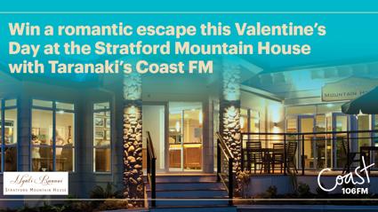 TARANAKI: Win a luxury night away this Valentine's Day