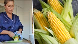 Toni Street shares her ultimate life hack for quickly shucking corn