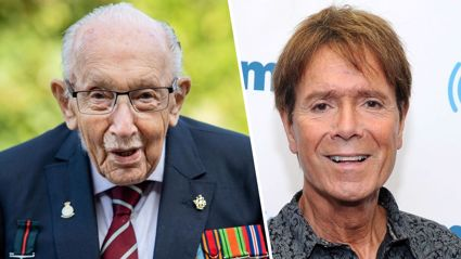 Sir Cliff Richard shares one of the last photos of Captain Sir Tom Moore from their Barbados holiday