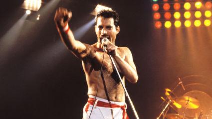 Queen's Roger Taylor reveals he has a 20ft Freddie Mercury statue in his garden