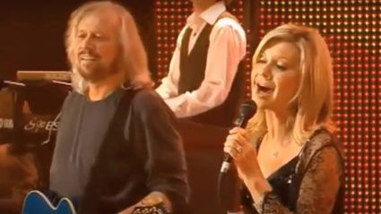 Relive Barry Gibb and Olivia Newton-John's flawless cover of 'How Can You Mend A Broken Heart'