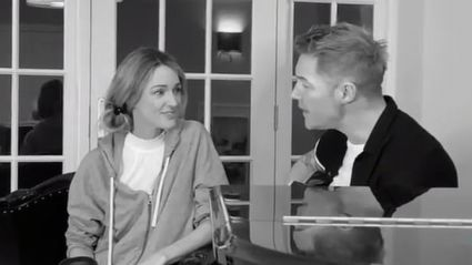 Ronan Keating shows off his wife's incredible voice with sweet 'When You Say Nothing At All' duet